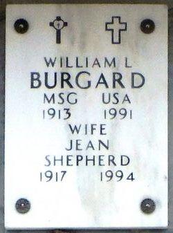 Jean Mae <i>Shepherd</i> Burgard