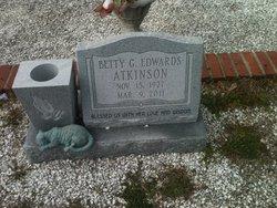 Betty <i>Edwards</i> Atkinson
