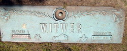 Frances E. <i>Tharp</i> Witwer