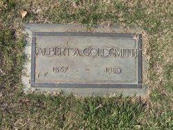 Albert A Goldsmith