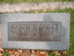 Joseph Nathaniel Bailey, Sr