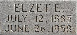Elzetta E. <i>Garrett</i> Amonett