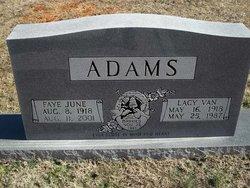 Faye June <i>Hudson</i> Adams