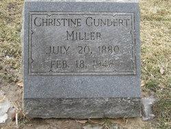 Christine Irma <i>Gundert</i> Miller
