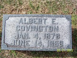 Albert Edward Covington