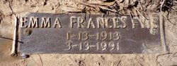 Emma Frances <i>Fyie</i> Akers