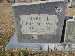 Mabel Lee Batchelor