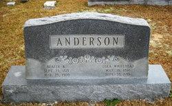 Bealer K. Anderson