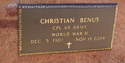 Christian Benus