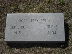 Rose <i>Libby</i> Bates