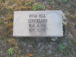 Rosa <i>Hill</i> Strickland