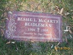 Bessie Lee <i>McCarty</i> Beidleman