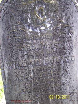 Martha Eliza <i>Wells</i> Boland