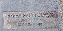 Thelma Rachal Byrom