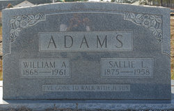 Sallie Ann Melinda <i>Lyle</i> Adams