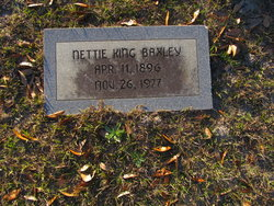 Nettie <i>King</i> Baxley