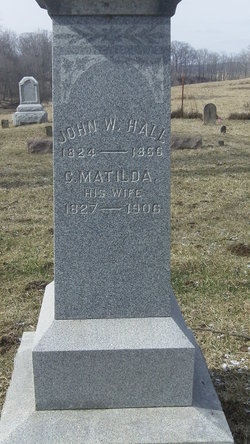 Matilda C <i>Wright</i> Hall