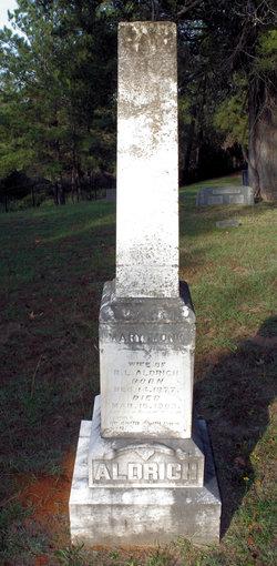 Mary L. <i>Monk</i> Aldrich