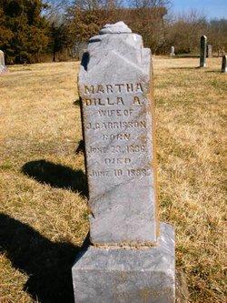 Martha Dilly Ann <i>Gold</i> Garrison