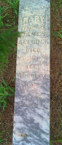 Mary Polly <i>Housman</i> Allcock