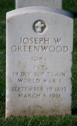 Joseph W Greenwood