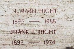 Lottie Mabel <i>Warner</i> Hight