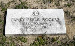 Pansy Ruth <i>Peele</i> Rogers