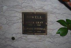 Edward Hoddell Dowell
