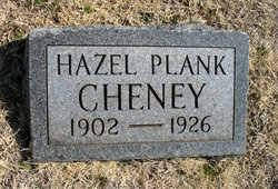 Hazel <i>Plank</i> Cheney