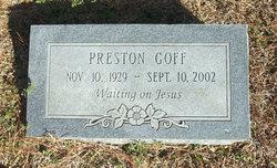 Preston Edward Goff, Sr