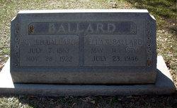 Ella <i>Ward</i> Ballard