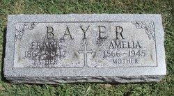 Amelia Mollie <i>Frank</i> Bayer
