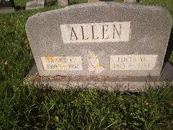 Locia Olive <i>Marshall</i> Allen