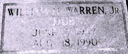 William Henry Dub Warren, Jr