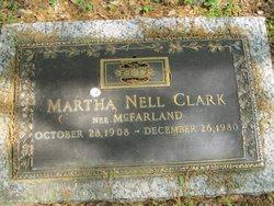 Martha Nell <i>McFarland</i> Clark