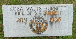 Mary <i>Watts</i> Burnett