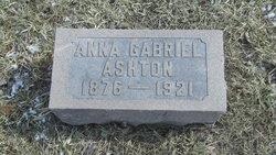 Anna Gabriel Ashton