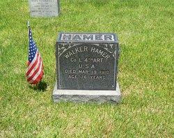 Pvt Walker Hamer