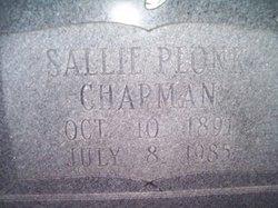 Sallie Belle <i>Plonk</i> Chapman