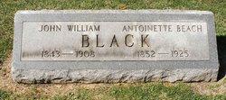 Antoinette <i>Beach</i> Black