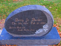 Betty Jo <i>Jones</i> Barker