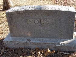 May McKee Fore