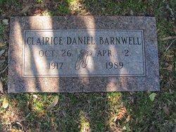 Clairice Netherla <i>Daniel</i> Barnwell