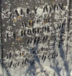 Sally Ann <i>Morgan</i> Houghland