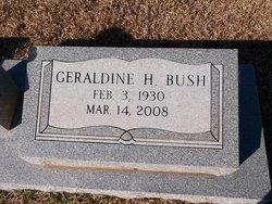 Geraldine <i>Holifield</i> Bush