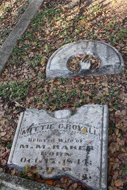 Nancy Carter Mittie <i>Royall</i> Baker