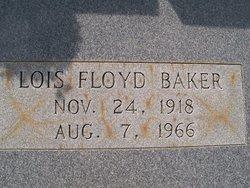 Lois Pauline <i>Floyd</i> Baker