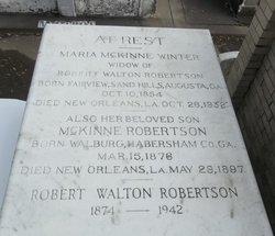 Robert Walton Walton Robertson, Jr