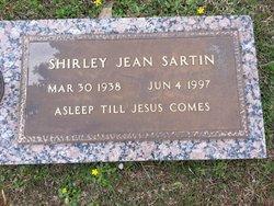 Shirley Jean <i>Williams</i> Sartin
