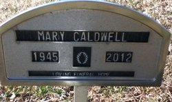 Mary Sue <i>Offenbacker</i> Caldwell